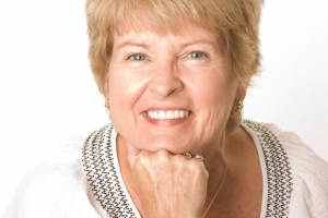Roberta F Partial Denture After
